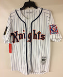 Roy Hobbs New York Knights The Natural Movie Authentic Baseball Jersey