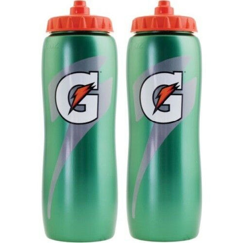 Gatorade 32 oz. Squeeze Water Bottle - 2 Bottles - All Sport Water Bottles
