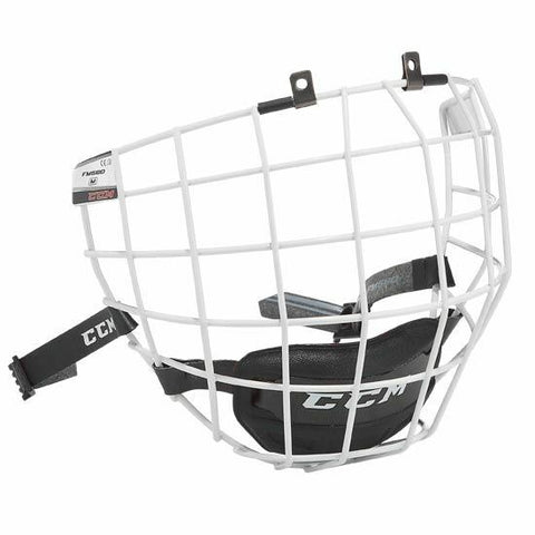 CCM FM580 White Hockey Helmet Cage - Face Mask - Small, Medium or Large