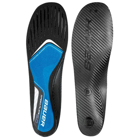 Bauer Hockey Speed Plate 2.0 Custom Fit Skate Insoles Hockey Skate Insoles