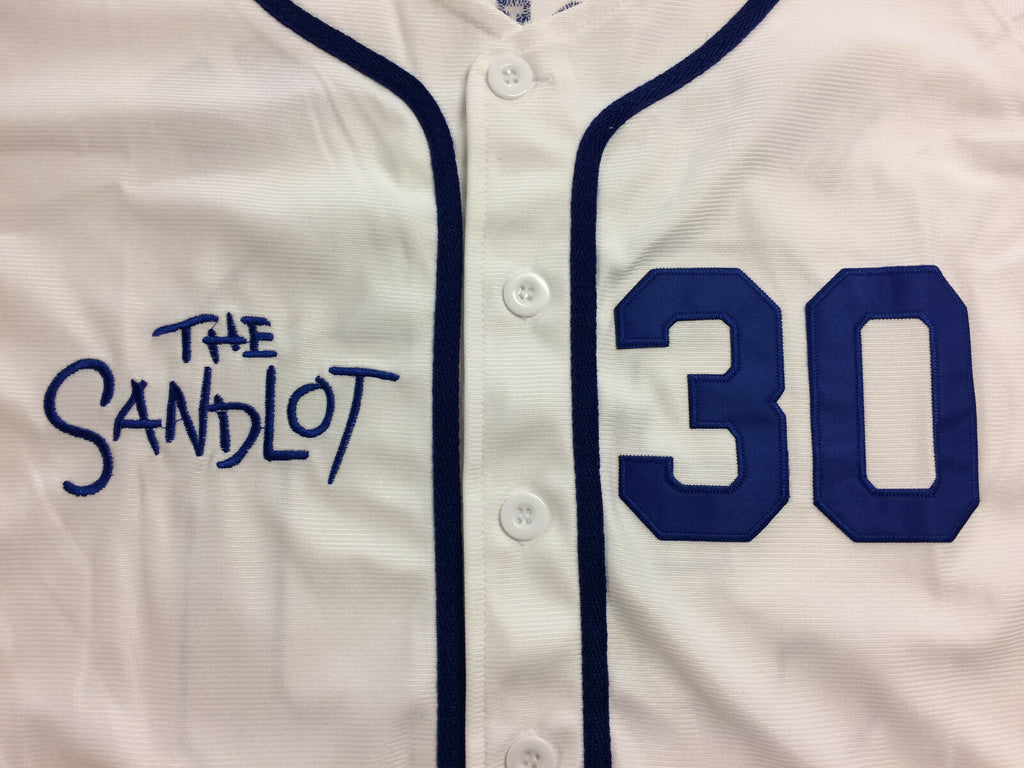 The Sandlot Benny Rodriguez The Jet Dodgers Movie Authentic Baseball Cowing Robards Sports