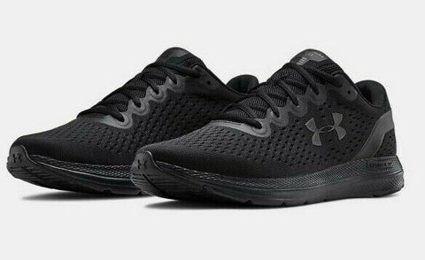 Under Armour Men's UA Charged Impulse Running Shoes Cross Training Blackout