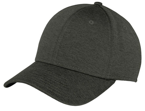 New Era 39THIRTY Shadow Heather Flex Structured Stretch Hat Blank Cap