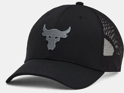 Under Armour Men's UA Project Rock Trucker Snapback Cap Hat Dwayne Johnson