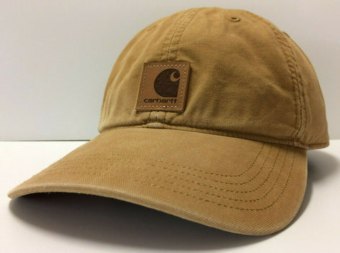 Carhartt Odessa Men's Adjustable Strapback Dad Cap Authentic Hat Curved