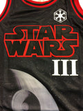 Darth Vader Star Wars Headgear Classics Authentic Basketball Jersey Film Galaxy