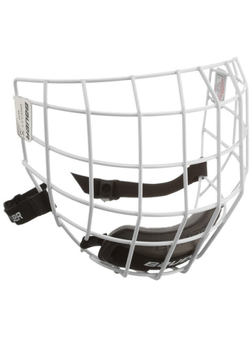 Bauer Profile II White Cage Hockey Mask Hockey Wire Cage
