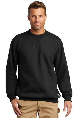 Carhartt Men's Midweight Crewneck Sweatshirt Pullover Long Sleeve Workwear Crew