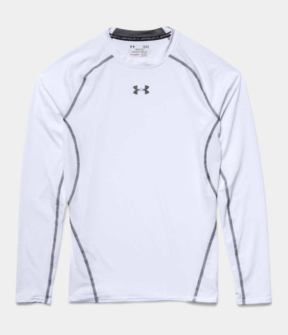 Under Armour Men's UA Compression Long Sleeve HeatGear T-Shirt Sonic Workout Tee