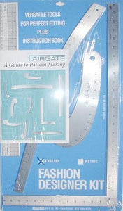 Vogue Fabrics Fairgate Pattern Making Ruler Kit