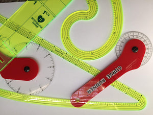 Luna Grafix 5/8th inch .625 French Curve ruler