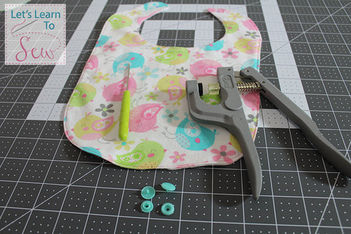 Reversible Baby Bib With Two Neck Style Options Videos included