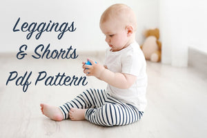 Infant and Child Size Leggings and Shorts