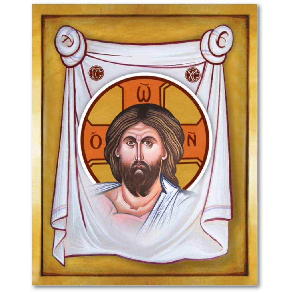 THE HOLY FACE OF JESUS - Mandylion