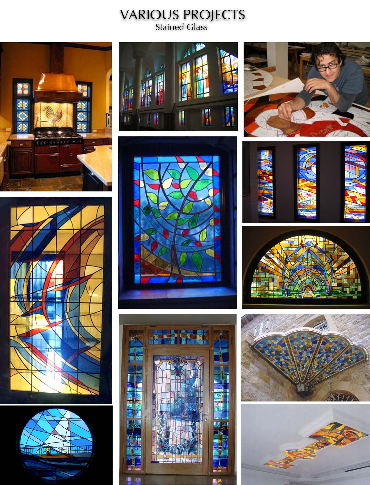 Stained glass Chady Elias