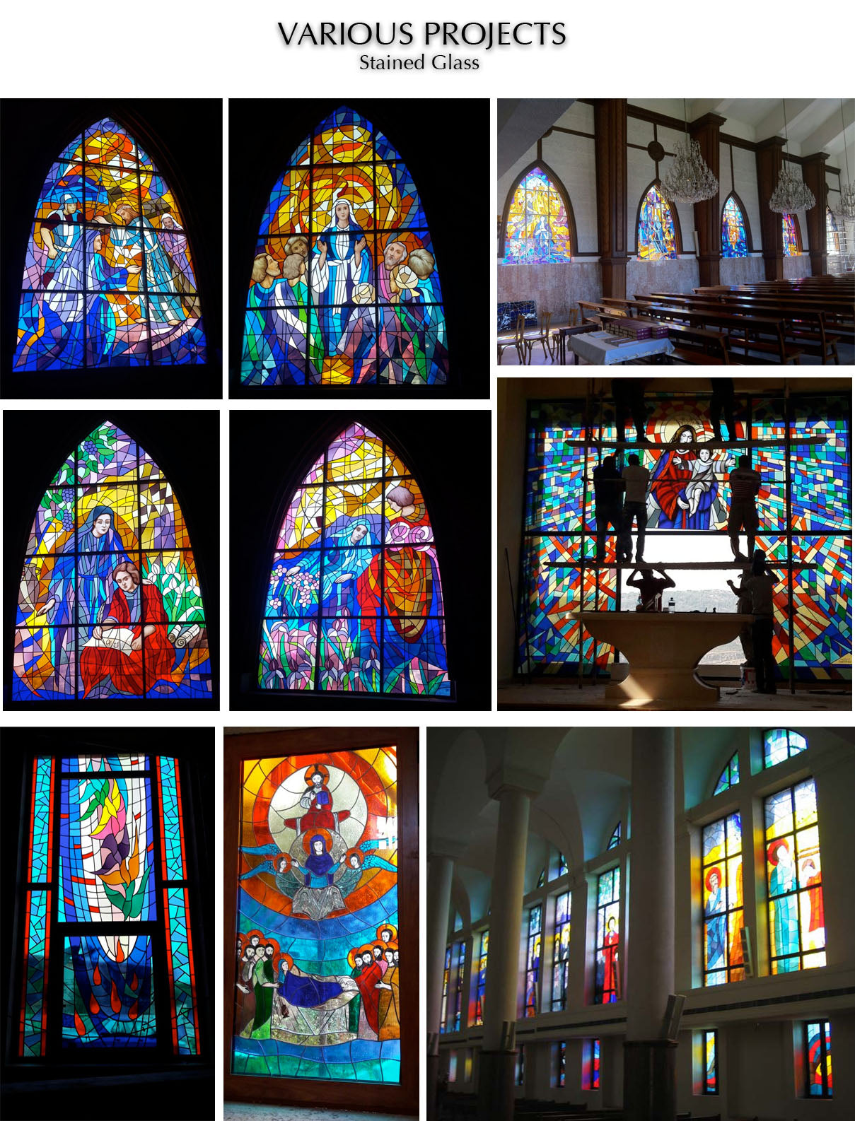 Stained Glass by Chady Elias