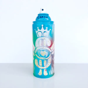 Chady Elias - Painting - Masterpiece - Atworks - Majestic - limited edition spray can  Blue