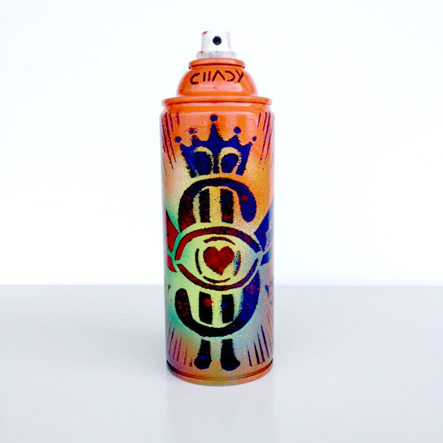 Chady Elias - Painting - Masterpiece - Atworks - Majestic - limited edition spray can