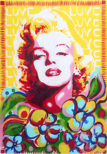 Chady Elias - Painting - Masterpiece - Atworks -  Marilyn Monroe Painting
