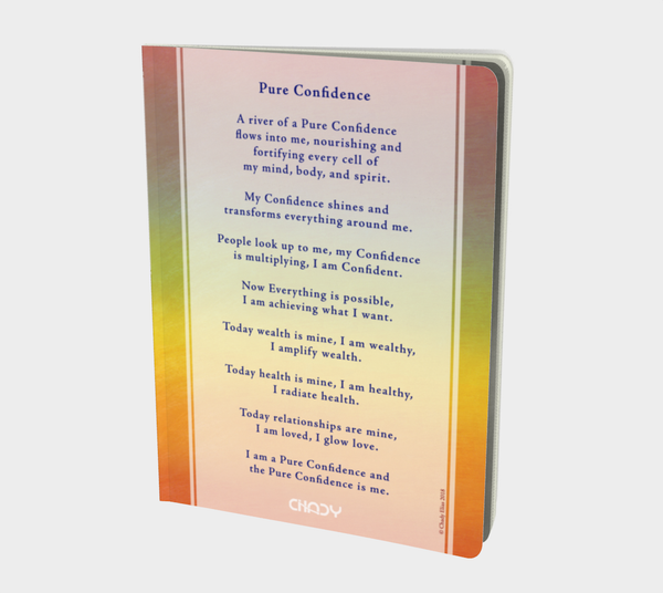 Pure Confidence - Notebook - Chady Elias
