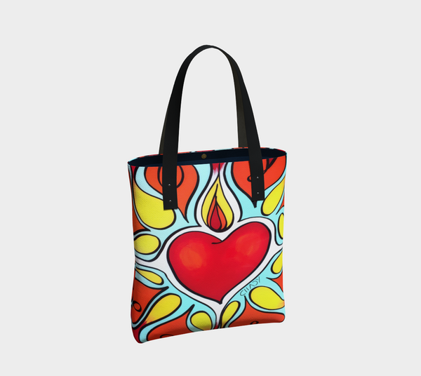 Flourishing heart - Tote Bag - Chady Elias
