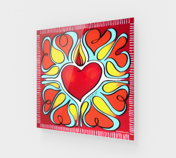Flourishing Heart - Acrylic Edition - Chady Elias