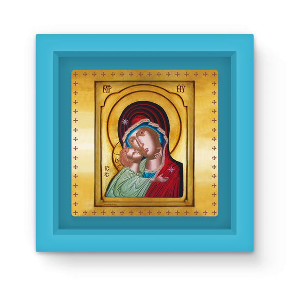 Our Lady of Tenderness - The Sweet Kissing - Magnet Frame - Chady Elias