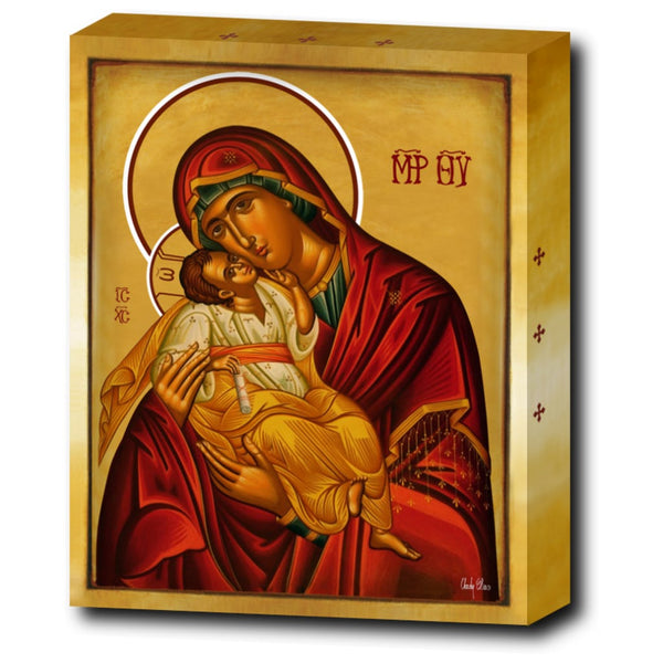 The Salutations To The Theotokos - 8x10 in - Chady Elias