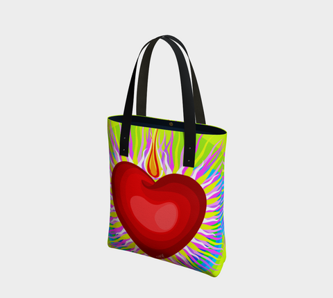Radian Heart - G -Tote Bag - Chady Elias
