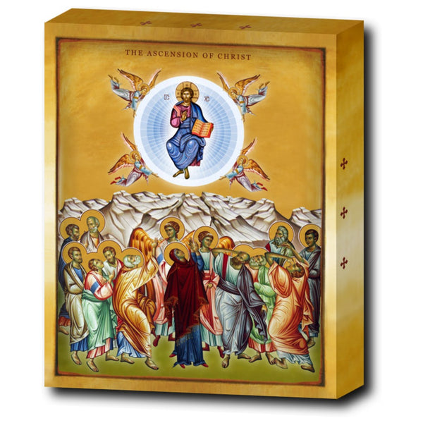 The Ascension of the Lord Jesus Christ - 8x10 in - Chady Elias