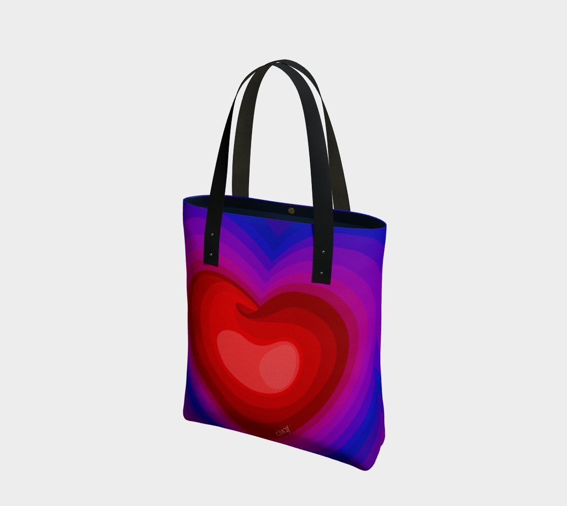 Colorful Heart - Tote Bag - Chady Elias