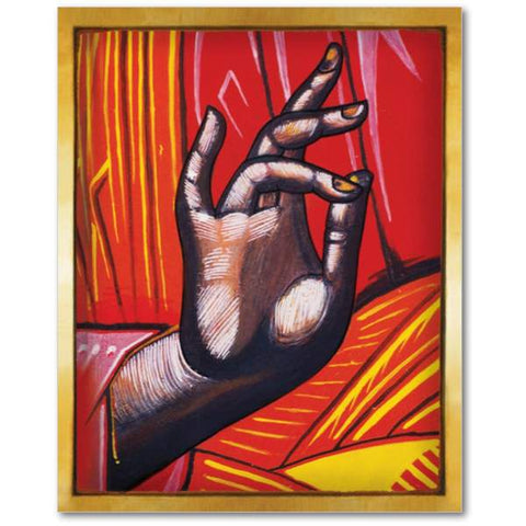 The Blessing Hand of Jesus Christ - Icon - 5x7 in - Chady Elias