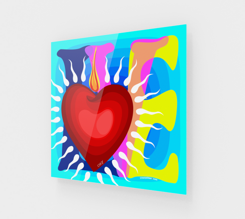 Love - Heart - Acrylic Edition - Chady Elias