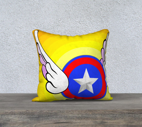"Flying Star - 18"" Pillow Case - Chady Elias"