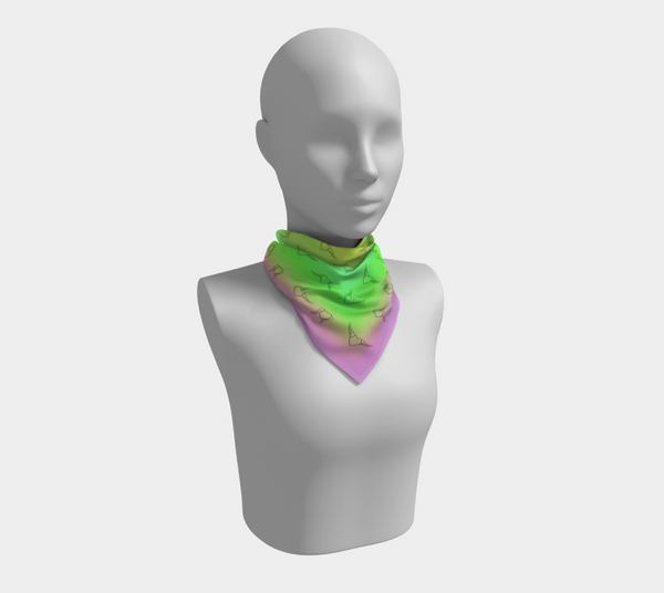 Flying Heart - Colorful Scarf - Chady Elias