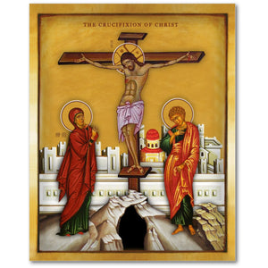 The Crucifixion of Jesus Christ - 8x10 in - Chady Elias