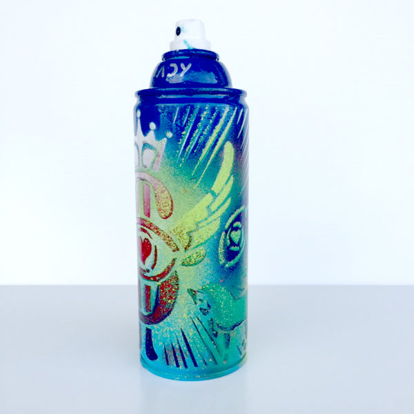 Color Your Life - Deep Blue Spray Paint Can - Artwork  - 149-72J-J74 - Chady Elias