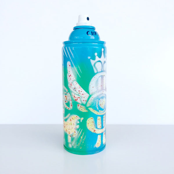 Color Your Life - Seaside Blue Spray Paint Can - Artwork - 494-67Y-08A - Chady Elias