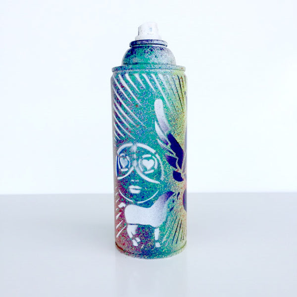 Color Your Life - White Spray Paint Can - Artwork  - ZN5-572-519 - Chady Elias