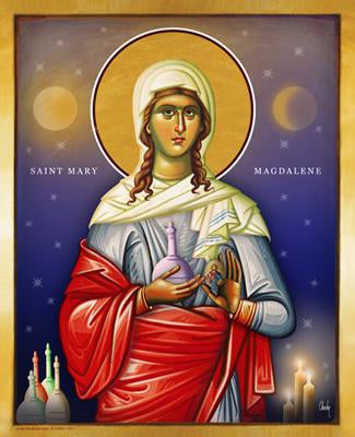 Saint Mary Magdalen - Icon - 8x10 in - Chady Elias