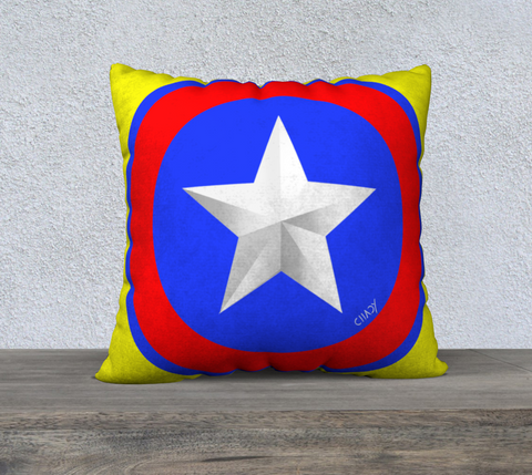 "American Star - 22"" Pillow Case - Chady Elias"