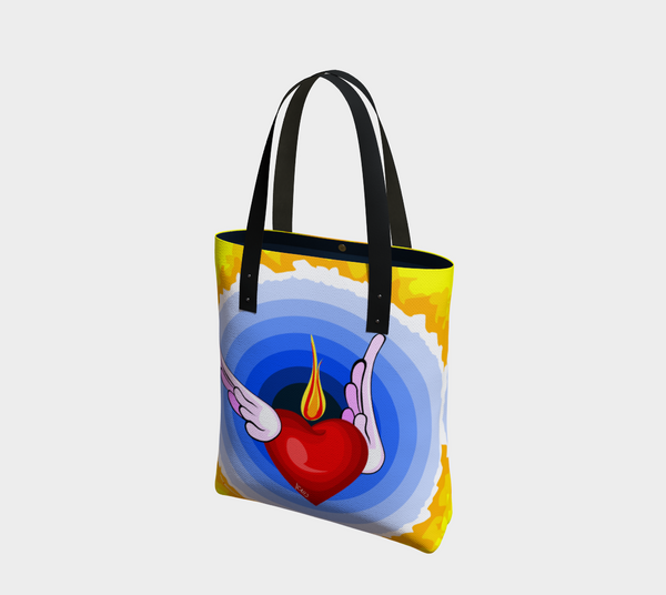 Flame of Love - Tote Bag - Chady Elias