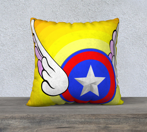 "Flying Star - 22"" Pillow Case - Chady Elias"