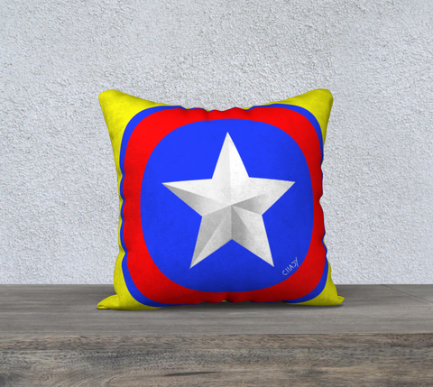 "American Star - 18"" Pillow Case - Chady Elias"