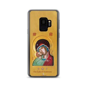Our Lady of Tenderness - The Sweet Kissing - Samsung Galaxy S9 & S9+ Case - Chady Elias