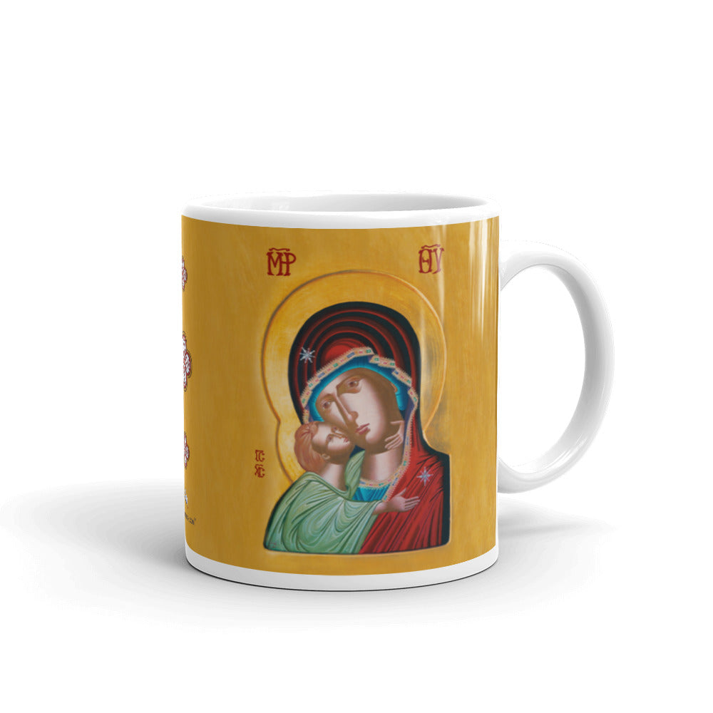 Our Lady of Tenderness - The Sweet Kissing - Mug - Chady Elias