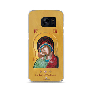 Our Lady of Tenderness - The Sweet Kissing - Samsung Case - Chady Elias