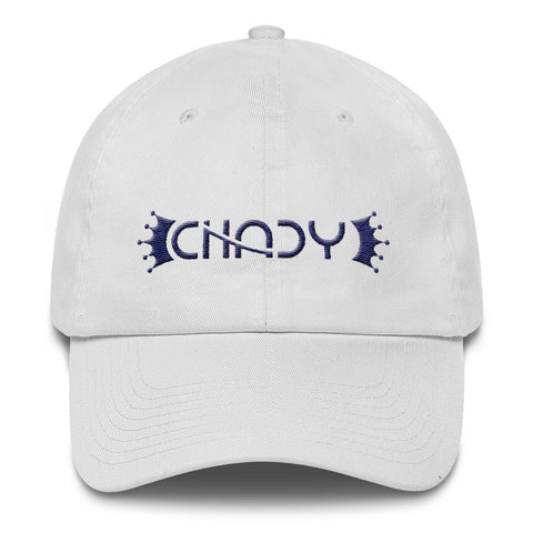 CHADY Navy on White Cotton Cap - Chady Elias
