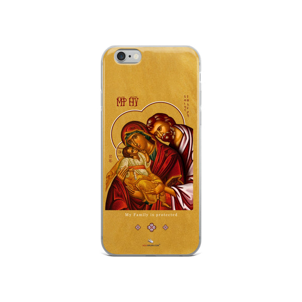 The holy Family - iPhone Case - Chady Elias