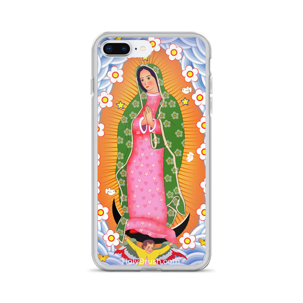 Our Lady Of Guadalupe - iPhone Case - Chady Elias